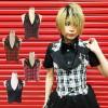 ゴスロリ ロリータ パンク コスプレ コスチューム メイド コスプレ衣装 ベスト p033