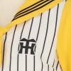 【阪神タイガース公式】胸ポイントタイつきセーラーT 白×黄