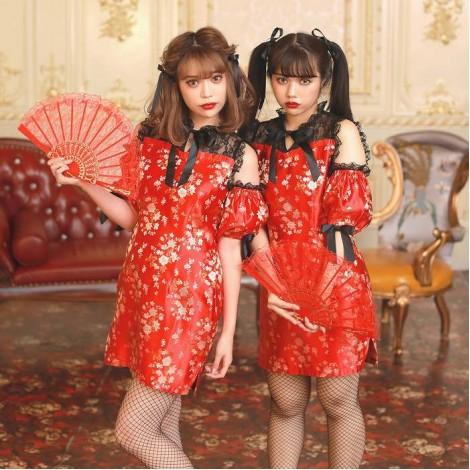 【Swankiss × BODYLINE】チャイナドレス